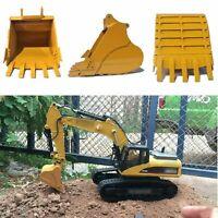 Para HuiNa 580 Excavadora RC Coche Recambios y Acc 336D Metal Simulación Bucket