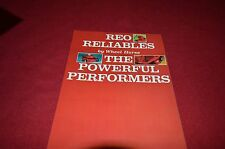 Wheel Horse REO Mowers Dealer's Brochure DCPA