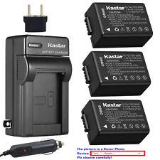 Kastar Battery Travel Charger for Panasonic DMW-BMB9 & Panasonic Lumix DC-FZ80