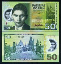 Czechoslovakia, 50 Korun, 2019 Private issue polymer - Franz Kafka