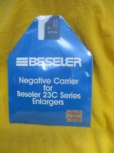 Beseler Negative Carrier #8054 for 23c Series Enlargers Photograph NEW IN BOX
