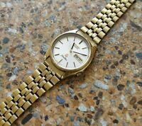 Seiko SilverWave Quartz JDM 8229 7050 December 1982 HGC Long Bracelet