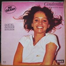 DANIEL JACKSON EXPLOSION CINDERELLA  MAXI 45T SEXY COVER IBACH RECORDS 1977