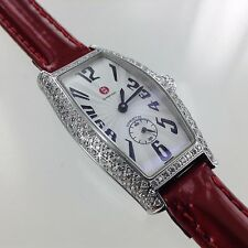 Michele Diamond Watch MW08B01  Coquette Ladies Swiss Sapphire Crystal 30m