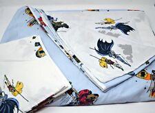 Pottery Barn Kids Batman & Robin Twin Duvet Cover + 1 Pillowcase Marvel Comic