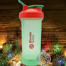 Blender Bottle Edición Especial Clásico 28 OZ spoutguard Shaker-Holly Jolly