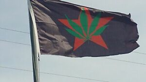 YIPPIE Flag, Youth International Party Marijuana 50th Abbie Hoffman, Jerry Rubin