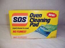 Nos Vintage 1983 S.O.S. Oven Cleaning Pad Movie Show Prop Unopened Collector