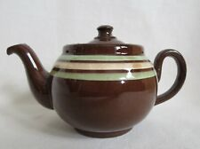 1950s ALB BROWN BETTY TEAPOT Alcock Lindley & Bloore England Single Serving