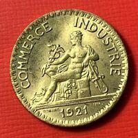 #4714 - 2 francs 1921 CDC SUP/SPL - FACTURE