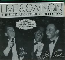 The Rat Pack / Live & Swingin' (CD + DVD) - 2CD