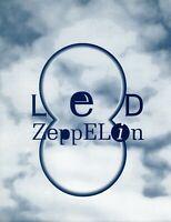 LED ZEPPELIN 1993 ATLANTIC RECORDS PROMO FOLDOUT PRESS KIT-PAGE/PLANT-NM TO MINT