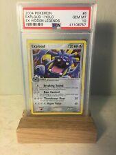 Pokemon PSA 10 Exploud Holo EX Hidden Legends 6/101