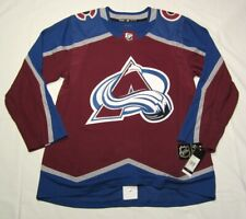 COLORADO AVALANCHE size 54 = XL - ADIDAS NHL Hockey Jersey aeroready authentic