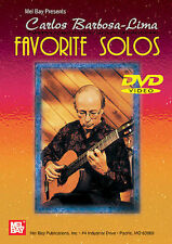 Carlos Barbosa Lima: Favorite Solos Guitar Performance DVD