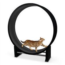 Katzenlaufrad - anthrazit, das Katzenspielzeug für ausreichend Auslauf & Fitness