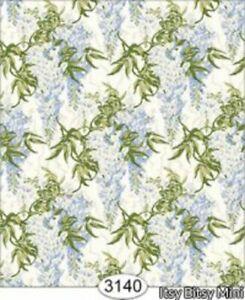 Dollhouse Halfscale Wallpaper - Wisteria Blue