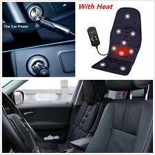 Car Chair Massage Heat Seat /Cushion Neck Pain Lumbar Support Pads Back Leg Mat