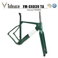 Tideace 2020 Post mount Aero Gravel Bicycle Frame S/M/L Disc Bike Gravel Frames