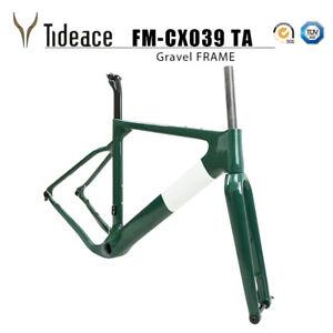 Tideace 2020 Post mount Aero Gravel Bicycle Frame S/M/L Disc Bike Gravel Frames
