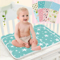 Baby Infant Waterproof Urine Mat Diaper Nappy Kid Bedding Changing Cover/_Pad BH