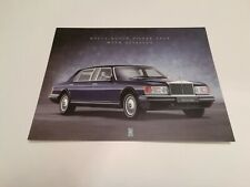 Rolls Royce Silver Spur With Division Park Ward Brochure