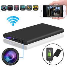 HD 1080P WiFi Hidden Spy Camera Night Vision Video Recorder + 5000mAh Power Bank