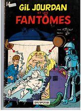 """BD """"14 - GIL JOURDAN ET LES FANTOMES """" M. TILLIEUX & GOS (1972) E. O. DUPUIS"""