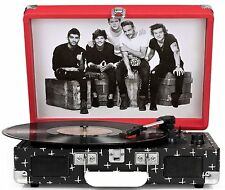 Crosley Cruiser Turntable - One Direction Limited Edition CR8005A-OD New
