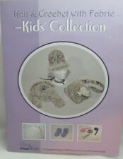 Kid's Collection Knit & Crochet with Fabric Pattern