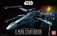 BANDAI Star Wars X-WING STARFIGHTER 1/72 Scale Plastic Model Kit JAPAN OFFICIAL
