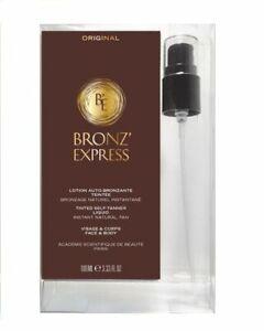 Academie Bronz`Express Lotion Auto-Bronzante Teintée 100 ml mit Pumpe