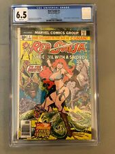 Red Sonja #1--CGC 6.5--Fabulous first issue!