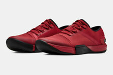 Under Armour UA TriBase Reign Training Shoes Red Black 3021289-600  Men Size 12