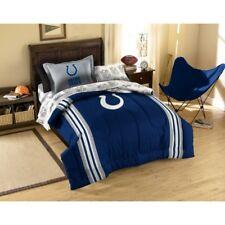 5pc NFL Indianapolis Colts Bedding Set Comforter Pillowcase Sheet Set Twin Size