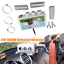 DC24V 3Hole Car Heater Portable Compact Defroster Demister 1000W Warm Feet Metal