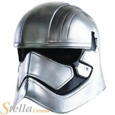 Adult Captain Phasma 2 Piece Helmet Star Wars Fancy Dress Costume Accessory