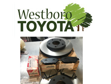 Toyota Camry LE 2002-2006 New Genuine OEM Front Brake Rotors Pad Kit & Shim Kit
