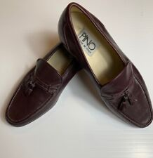 Men's Pino Italian loafers Size 9.5  color: brown