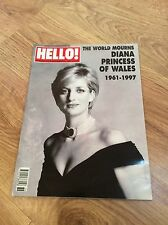 HELLO Magazine 6/9/97 PRINCESS DIANA OF WALES Tribute Issue Mohamed Dodi Fayed