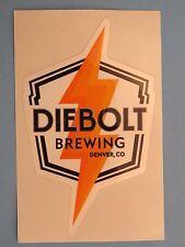 Beer STICKER ~*~ DIEBOLT Brewing Co <> Denver, COLORADO ** 100S More in STORE ++