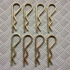 2mm x 25mm R Clips Zinc Plated   x6