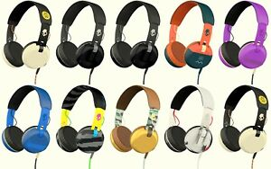 Skullcandy GRIND On-Ear Headphones with Built-In Mic - Various colours
