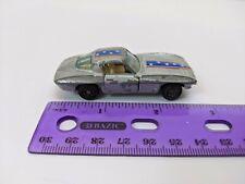 """Yat Ming Plymouth #1078 '63 Corvette Silver/Blue/Red 3"""" Long *Junkyard*"""