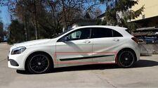 Car Door Guard Molding Cover Trim Body Side Mouldings Mercedes-benz A W176 2013-