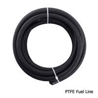 6AN/8AN/10AN Nylon PTFE Braided Fuel Line Brake Hose Tube for E85 Ethanol Fuel