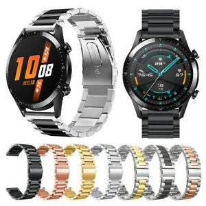 For Huawei Watch GT 2 46MM Strap Stainless Steel Watch Band