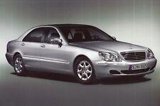 MERCEDES Classe S w220 BERLINA Preview Facelift prospetto brochure 2001/1