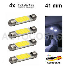 4x 41MM COB LED SMD COCHE SUPER BRILLANTE C5W 5050 INTERIOR MATRICULA LECTURA