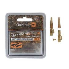 Prologic NEW Last Meter Mimicry Safety Lead Clip & Tail Rubber 10pcs - 54403